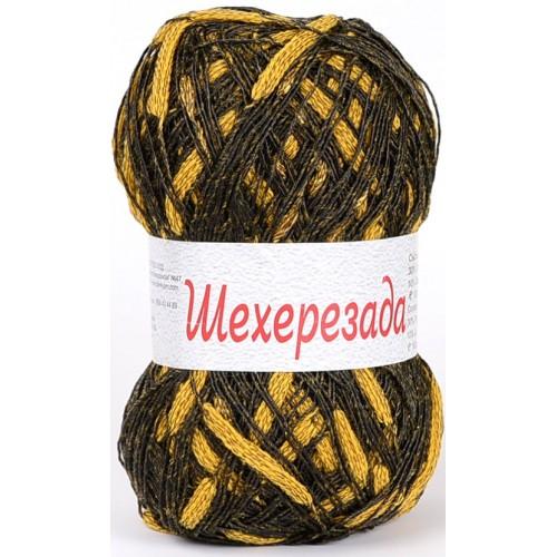 Шехерезада - жълто и тъмно кафяво