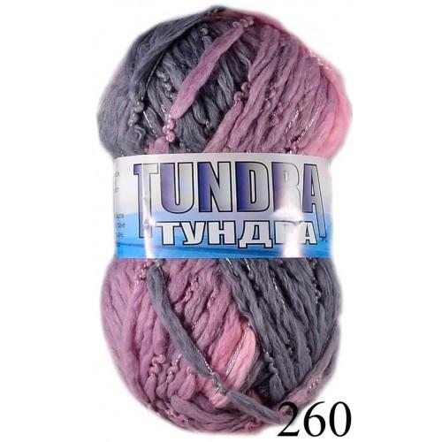 Тундра - розово-лилав меланж