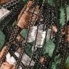 черно, кафяво, зелено