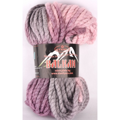Балкан - розово-сиво-лилаво