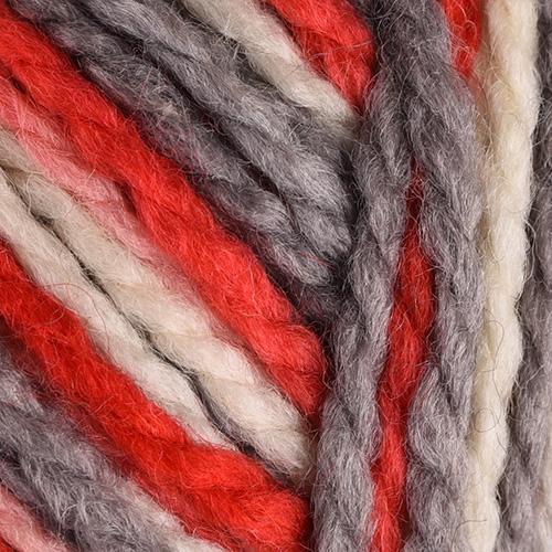 white, grey, red