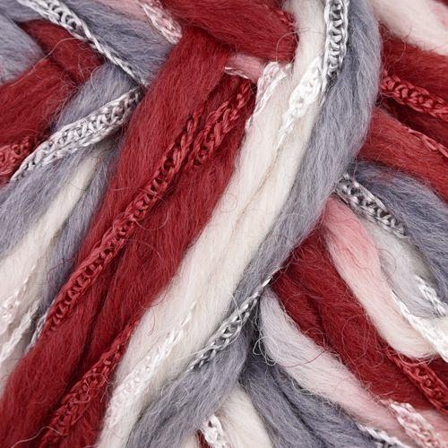 бяло, червено, пепелно синьо