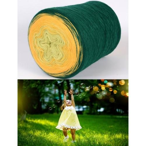 зелено, наситено жълто, жълто-зелено