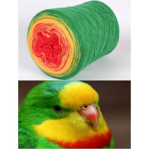 зелено, наситено жълто, червено