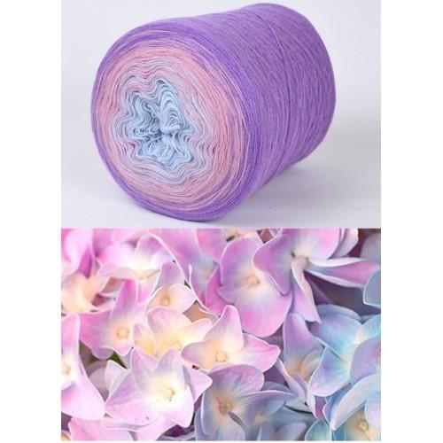 лилаво, пепел от рози, светло синьо