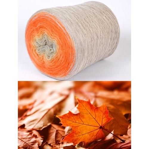 сиво-бежово, оранжево, медено