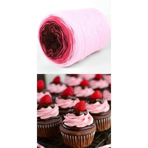 розово, корал, кафяво