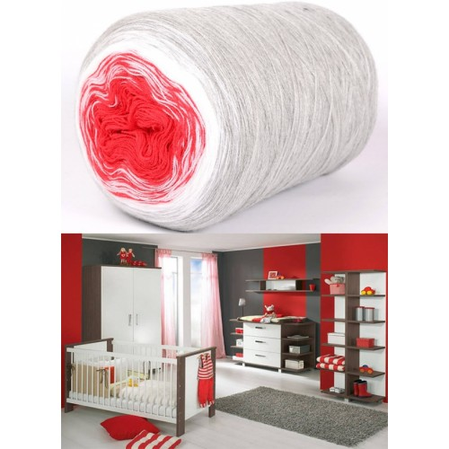 сиво, бяло, червено