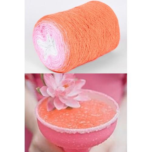 оранжево, розово, бяло