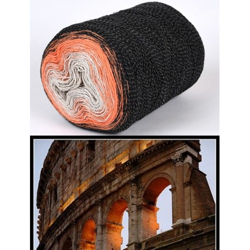 черно, оранжево, екрю
