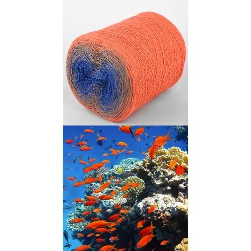 оранжевo, светло кафяво, кралско синьо