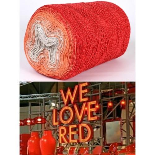 червено, оранжево, екрю