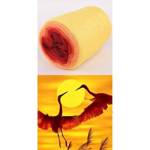 жълто, праскова, червено, бордо