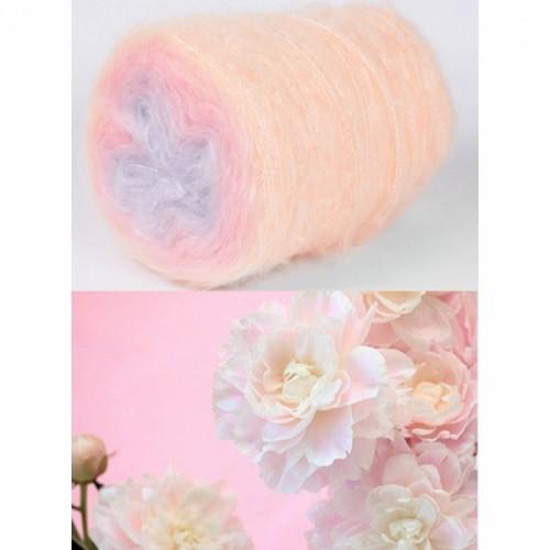 кремаво, светло розово, бледо лилаво