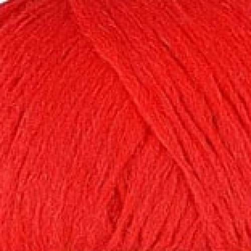 ярко червено