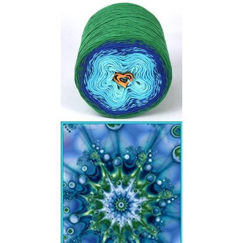 зелено, турско синьо, тюркоаз