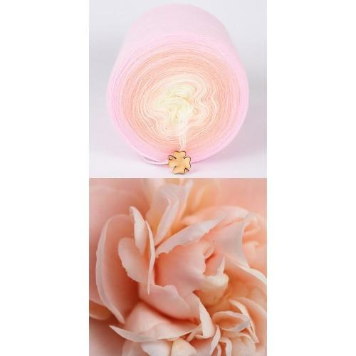 розово, кремаво, екрю