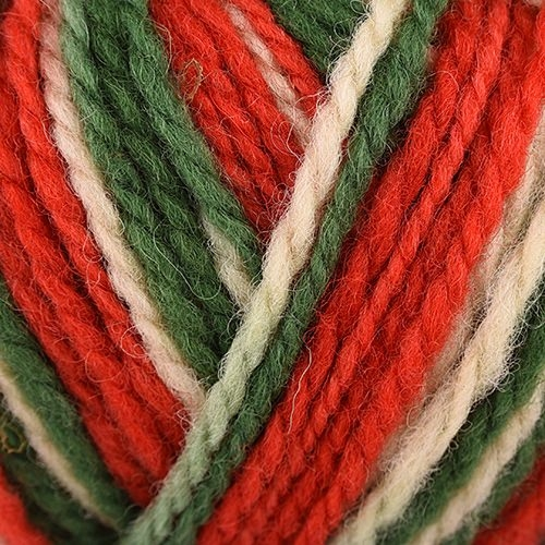 white, green, red