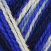 white, royal blue, dark blue