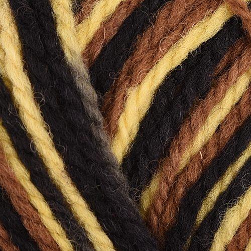 black, brown, yellow