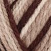 brown and beige melange