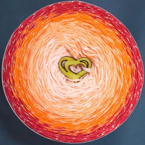 червено, оранжево, праскова, пъпеш